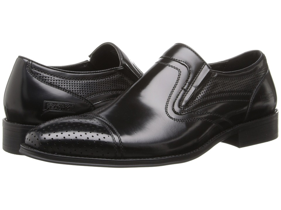Kenneth Cole Reaction - Next One (Black Bo) Men's Slip on Shoes