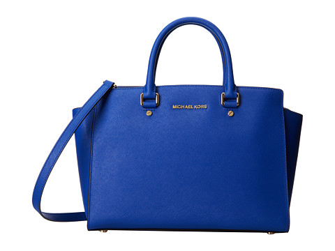 MICHAEL Michael Kors - Selma (Elctric Blue) Satchel Handbags