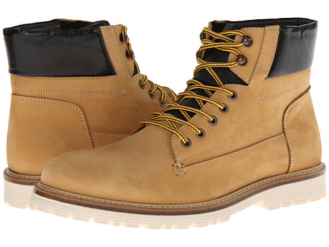 Kenneth Cole Reaction - Tail Me (Tan Nubuck) Men's Lace-up Boots