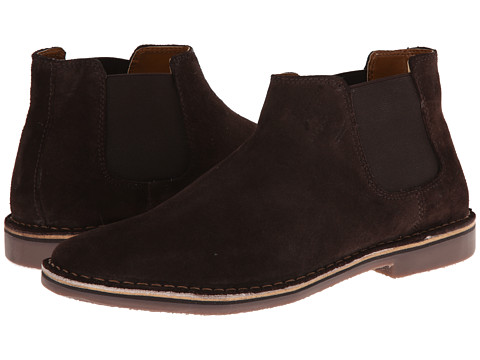 Kenneth Cole Reaction - Desert Sky (Dark Brown Suede) Men's Pull-on Boots