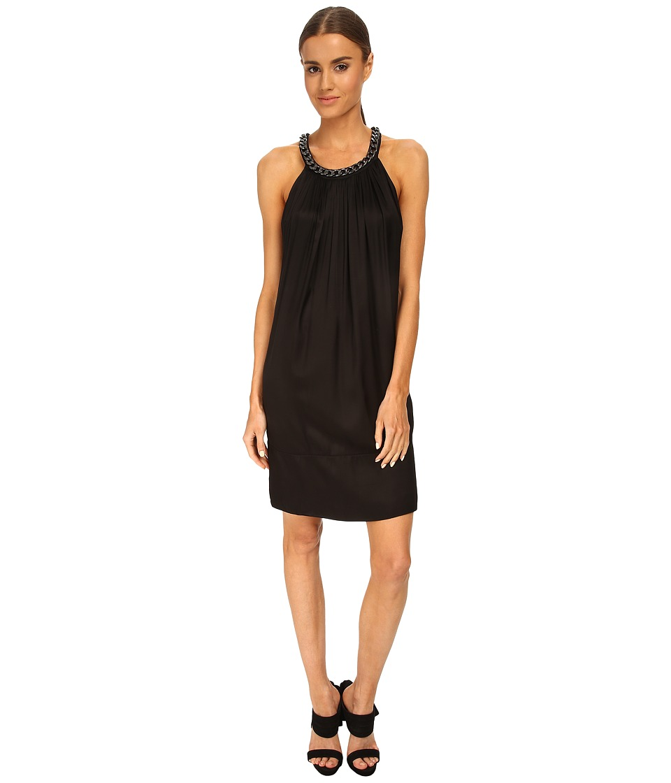 Pierre Balmain - Chain Detail Shift Dress (Black) Women's Dress