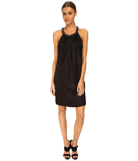 Pierre Balmain - Chain Detail Shift Dress (Black) Women