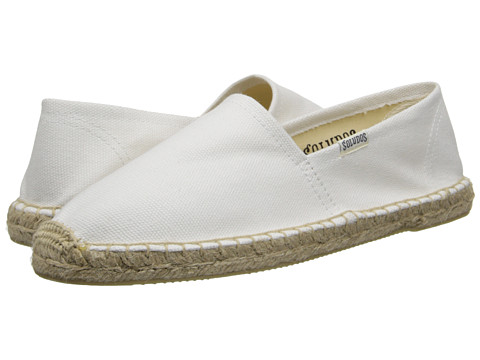 Soludos - Original Canvas Dali (Dali White) Women's Slip on Shoes