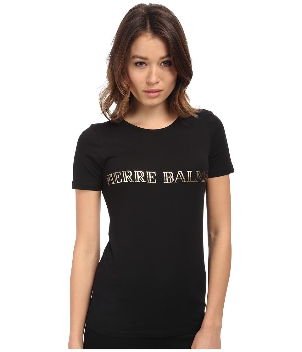 Pierre Balmain - Logo T-Shirt (Black) Women