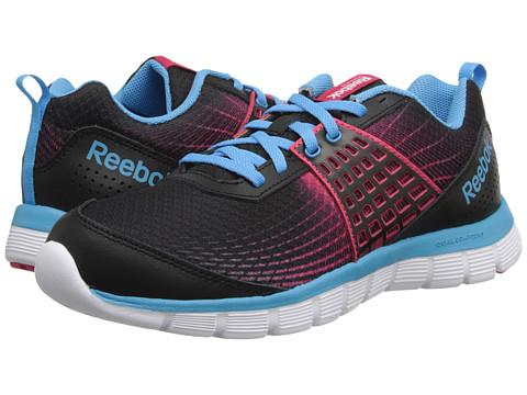 Reebok Kids - Z Dual Rush (Big Kid) (Black/Blazing Pink/Blue Beam/White) Girls Shoes