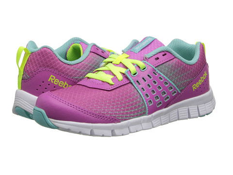 Reebok Kids - Z Dual Rush (Little Kid) (Ultraberry/Crystal Blue/Solar Yellow/White) Girls Shoes