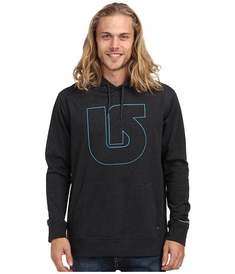 Burton - MB Pinner Po (True Black) Men's Sweatshirt