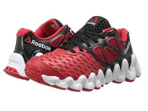 Reebok Kids - ZigTech Big N Tough (Big Kid) (Black/Red Rush/White) Boys Shoes
