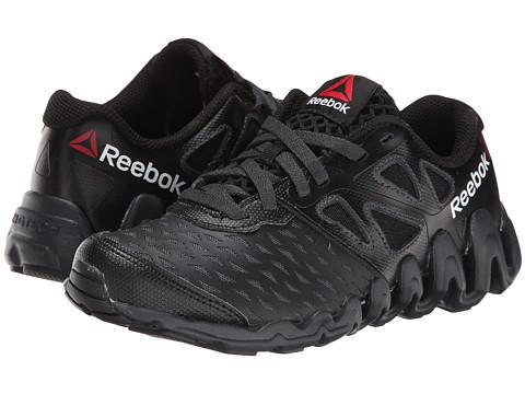 Reebok Kids - ZigTech Big N Tough (Little Kid) (Black/White/Gravel) Boys Shoes
