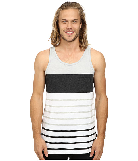 Burton - Brandbury Tank (High Rise Lapland Stripe) Men's Sleeveless