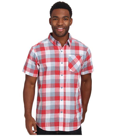 Columbia - Katchor II S/S Shirt (Sunset Red/Plaid) Men