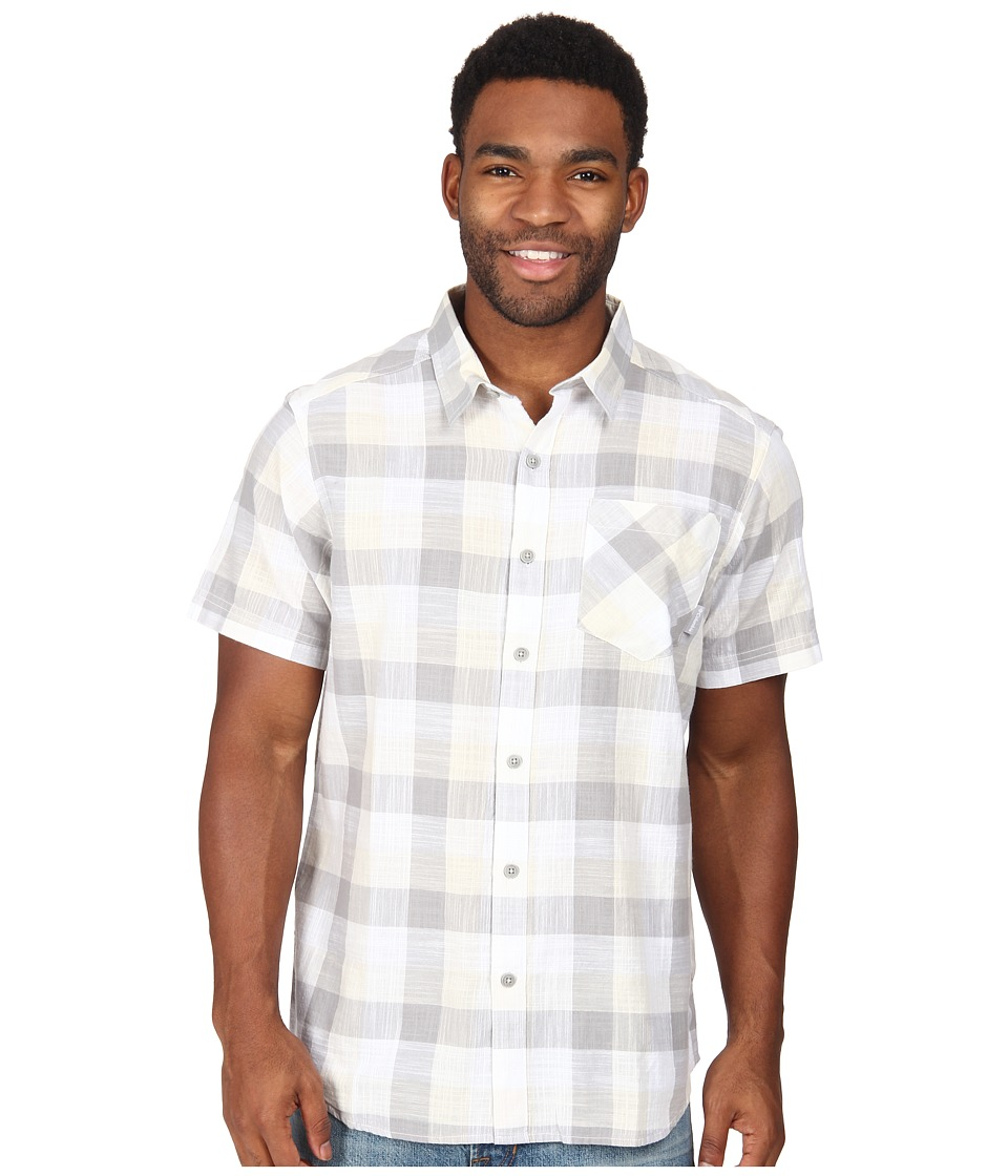 Columbia - Katchor II S/S Shirt (White/Plaid) Men