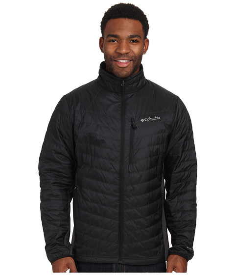 Columbia - Passo Alto Jacket (Black/Shark) Men's Coat