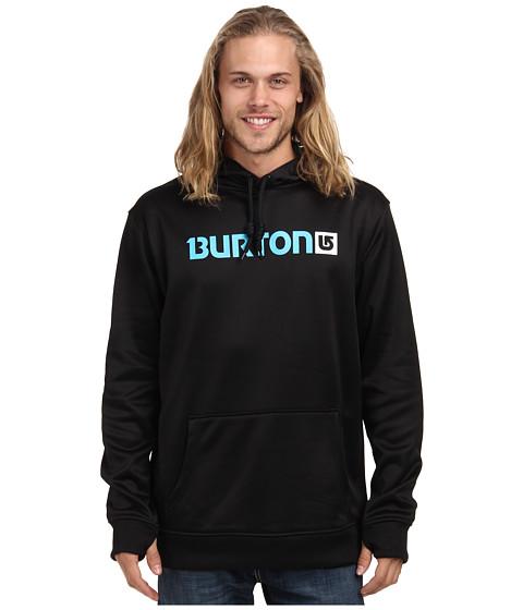 Burton - Crown Bonded Pullover Hoodie (True Black) Men
