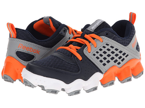 Reebok Kids - ATV19 Ultimate II (Little Kid) (Faux Indigo/Vivid Tangerine/Flat Grey/White) Boys Shoes