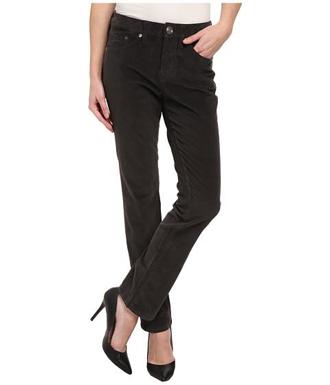 Jag Jeans Petite - Petite Jackson Straight Pinwale Cord (Flint) Women's Casual Pants
