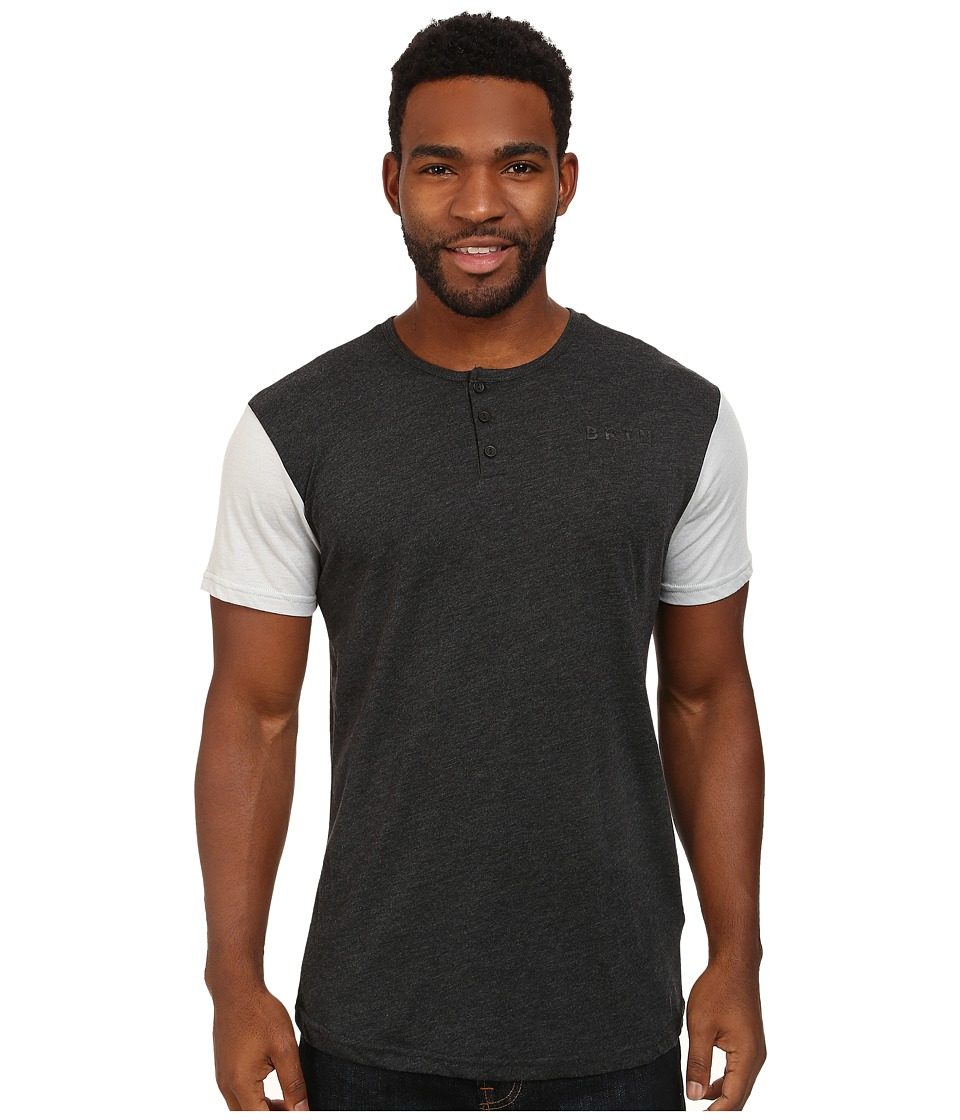 Burton - Dwight Tee (Trblk Heather/Hirse Heather) Men's T Shirt