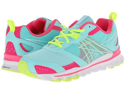 Reebok Kids - HexAffect Run (Big Kid) (Crystal Blue/Solar Pink/Solar Yellow/White) Girls Shoes