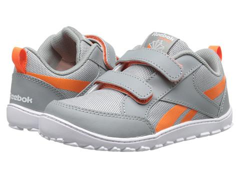 Reebok Kids - VentureFlex Chase (Infant/Toddler) (Flat Grey/White/Vivid Tangerine) Boys Shoes