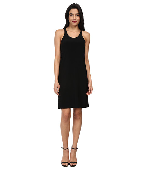 KAMALIKULTURE by Norma Kamali - Go Racer Dress (Black) Women's Dress
