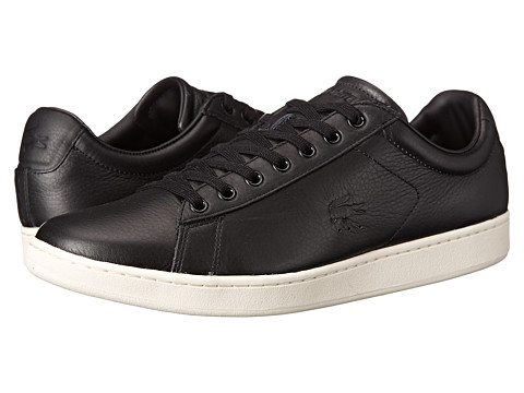 Lacoste - Carnaby Evo 2 (Black) Men's Shoes