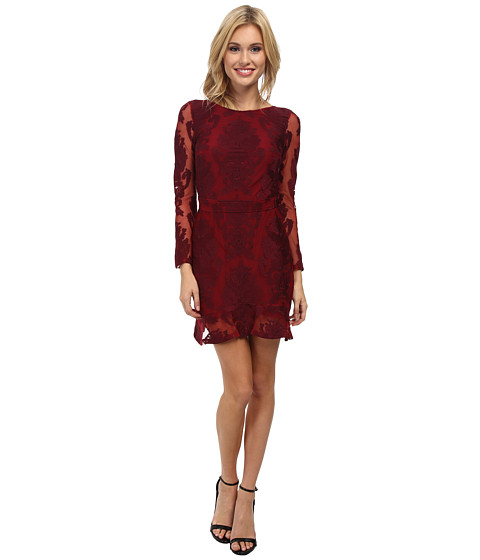For Love and Lemons - Night To Remember Dress (Crimson) Women's Dress