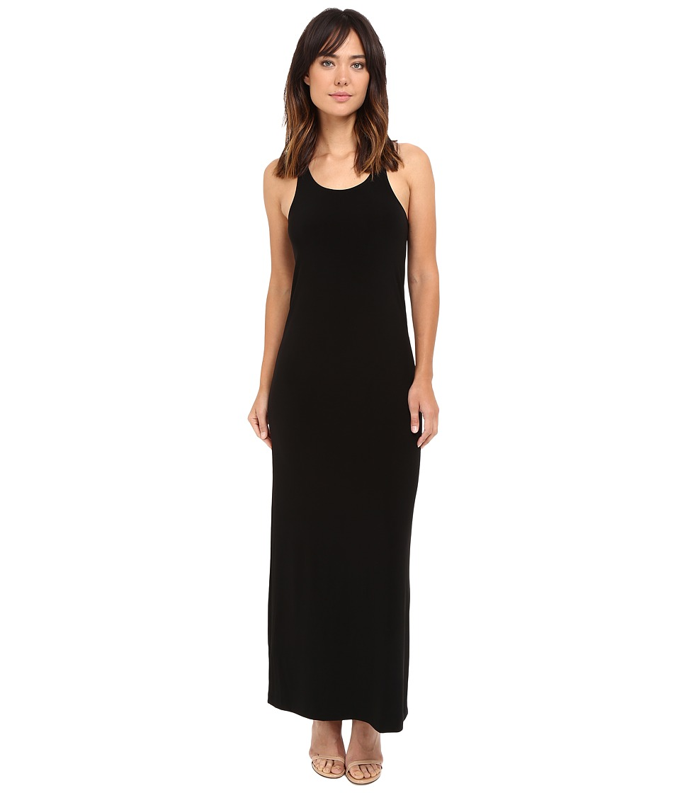 KAMALIKULTURE by Norma Kamali - Go Racer Maxi (Black) Women's Dress