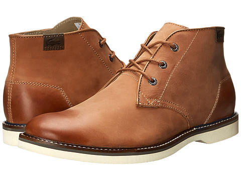 Lacoste - Sherbrooke-Hi 13 (Tan) Men's Shoes
