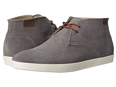 Lacoste - Zimri Chucka (Grey) Men's Shoes