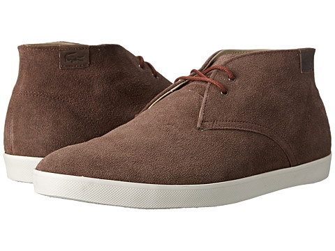 Lacoste - Zimri Chucka (Tan) Men's Shoes