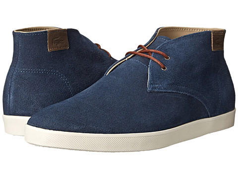 Lacoste - Zimri Chucka (Dark Blue) Men's Shoes