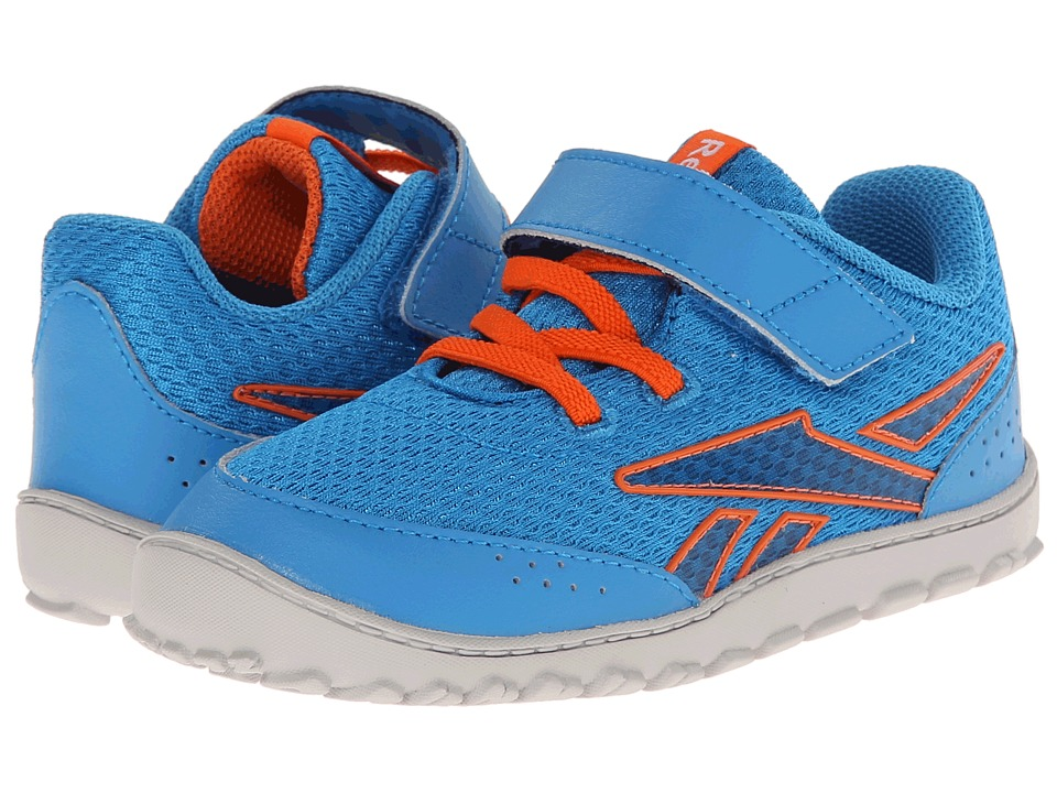 Reebok Kids - VentureFlex Stride II (Infant/Toddler) (Energy Blue/Steel/Vivid Tangerine/White) Boys Shoes