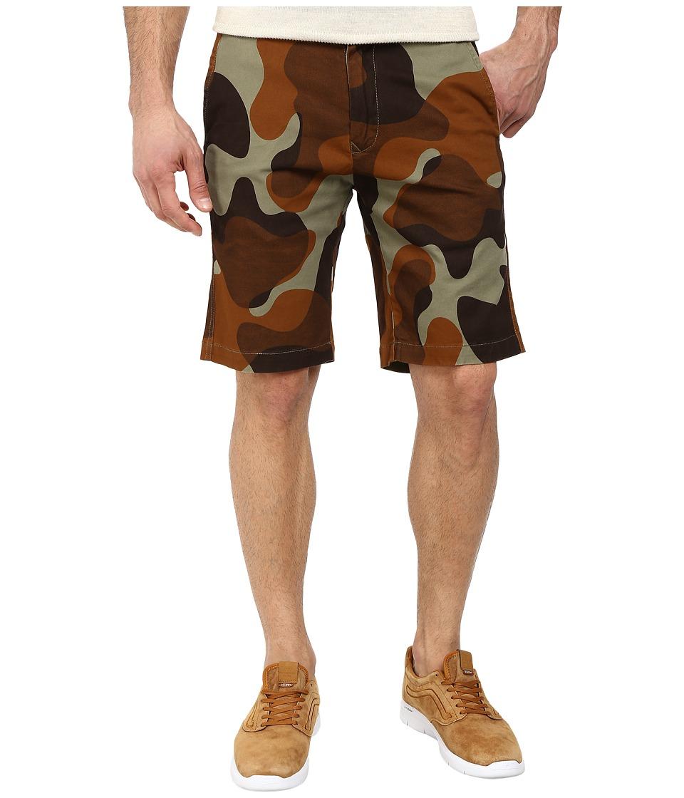 Burton - Sawyer Chino Short (Mountain Camo) Men's Shorts