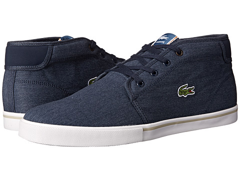 Lacoste - Ampthill CSU (Dark Blue/Dark Blue) Men's Shoes