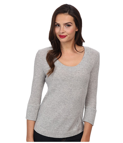 LAmade - Cashmere Scoop 3/4 Sleeve (Owl) Women's Sweater