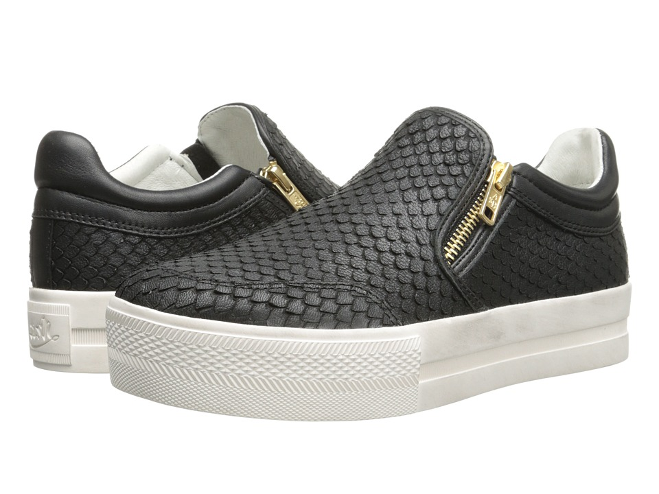 ASH - Jordy (Black/Black/Puff/Nappa Wax) Women's Slip on Shoes