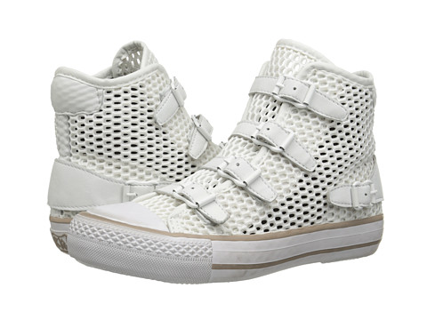 ASH - Vanessa (Off White/White/Jump/Nappa Wax) Women