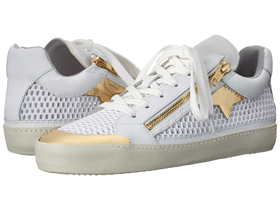ASH - Shy (White/White/White/Jump/Nappa Calf/Plain Neoprene) Women's Shoes