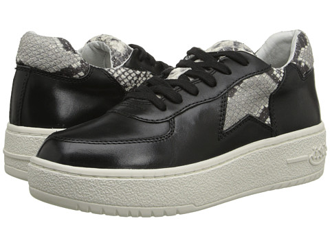 ASH - Fool (Black/Roccia/Nappa Calf/Diamante) Women's Lace up casual Shoes