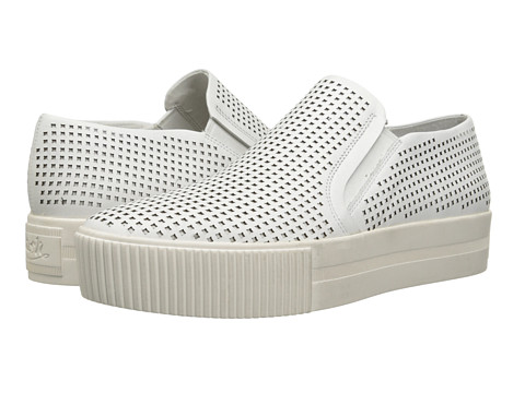 ASH - Kurt (White/Nappa Calf) Women's Flat Shoes