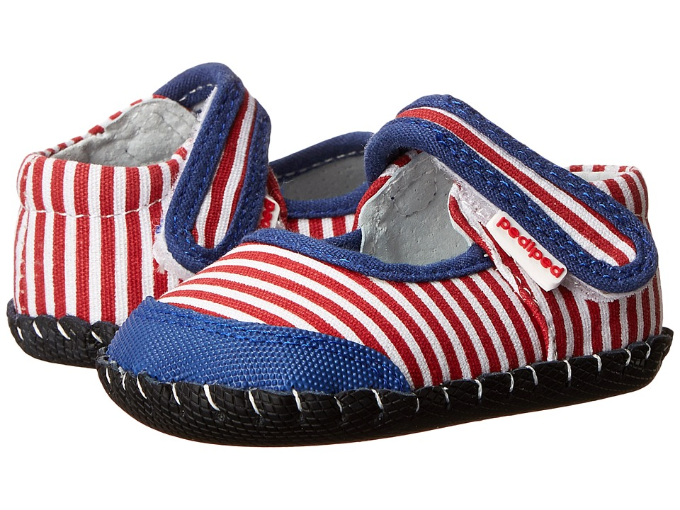 pediped - Louisa Originals (Infant) (Nautical) Girls Shoes