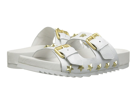 ASH - United (White/Gloss Croco/Candle) Women's Sandals