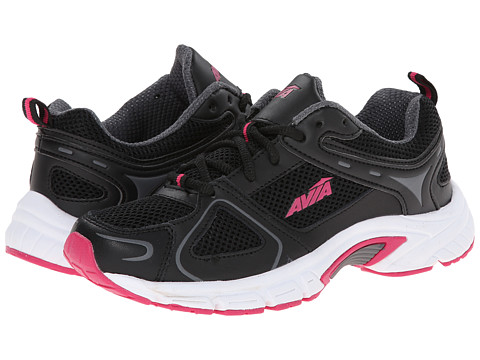 Avia - 5024 (Black/Steel Grey/Zuma Pink) Women's Shoes