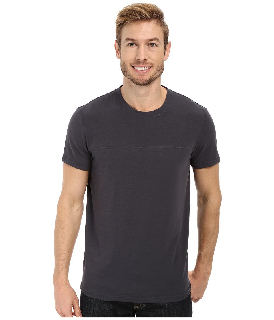Prana - Ridge Tech Tee (Coal) Men's T Shirt