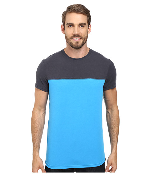 Prana - Ridge Tech Tee (Danube Blue) Men's T Shirt