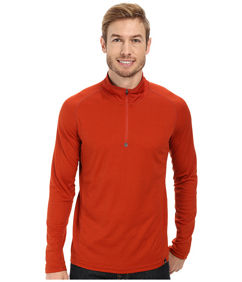 Prana - Orion 1/4 Zip (Fireball) Men's Sweater