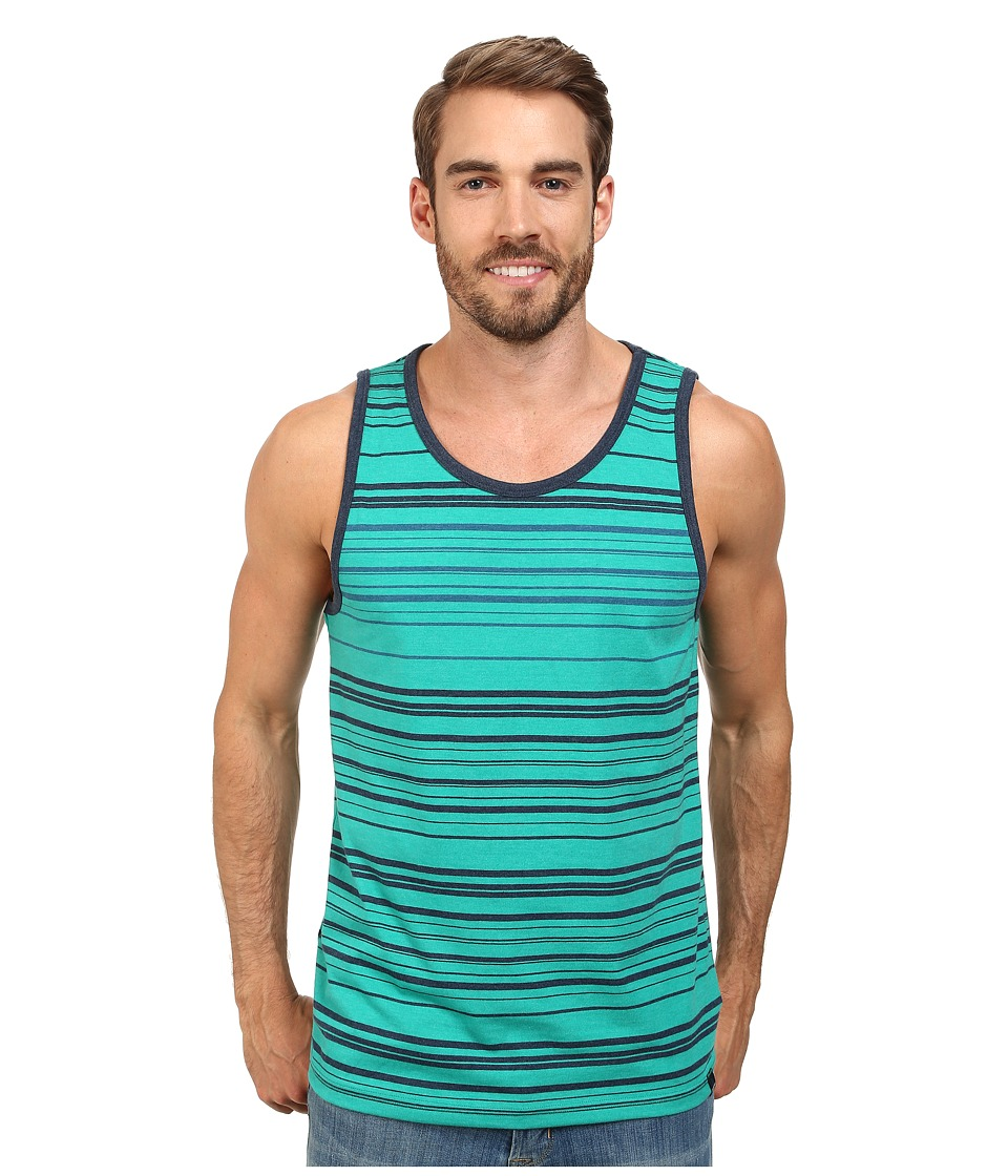 Prana - Throttle Tank (Dynasty Green) Men's Sleeveless
