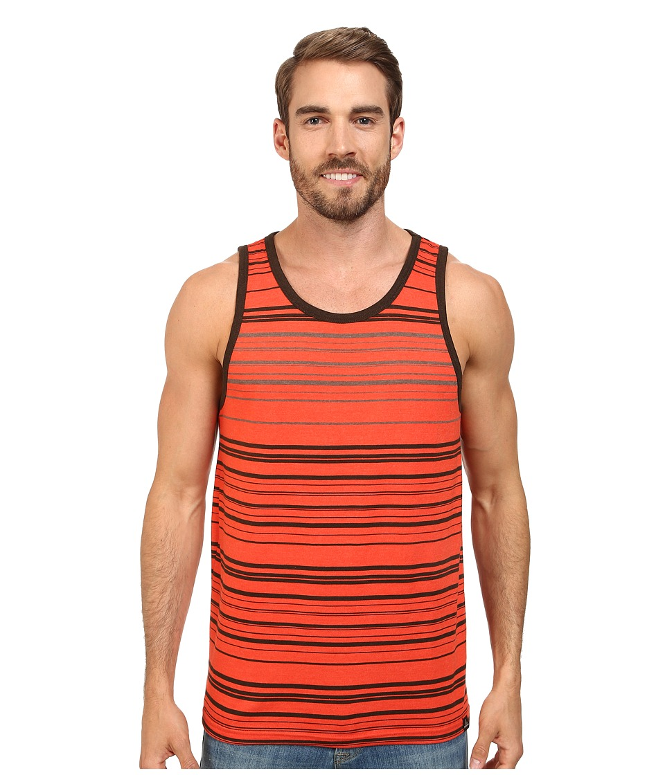 Prana - Throttle Tank (Electric Orange) Men's Sleeveless