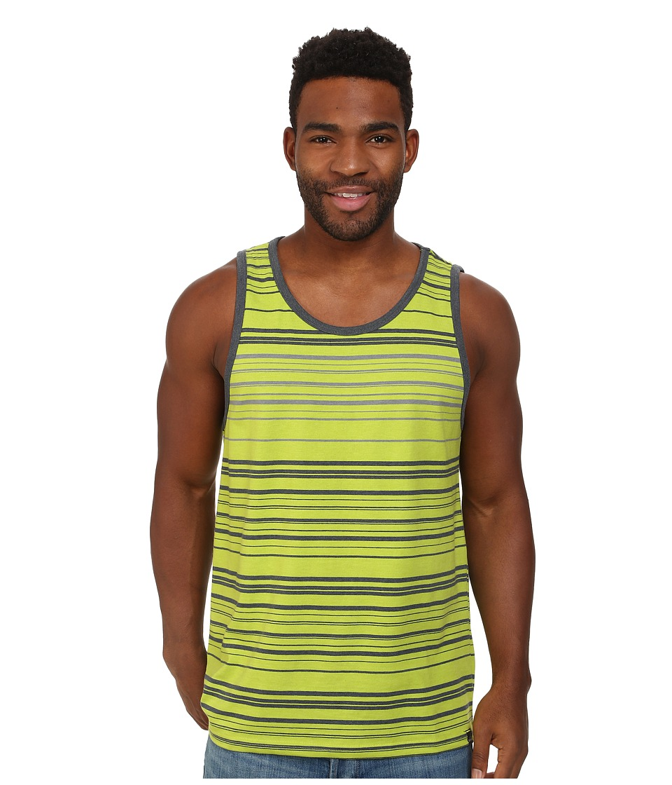 Prana - Throttle Tank (Macaw Green) Men's Sleeveless