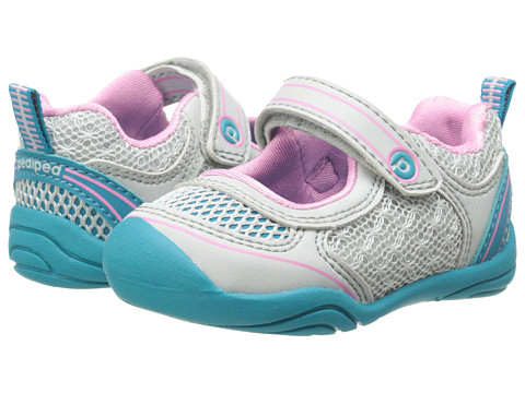 pediped - Racer Grip 'n' Go (Infant/Toddler) (Vapor) Girl's Shoes